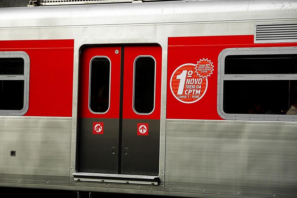 Primeiro novo trem da Linha 7 da CPTM