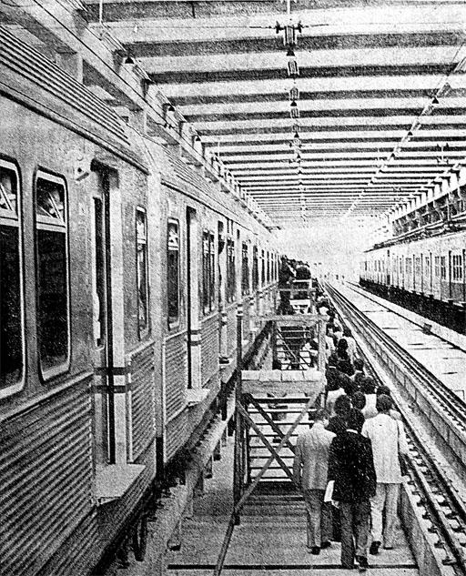 Autoridades embarcam na Estação Júlio Prestes
