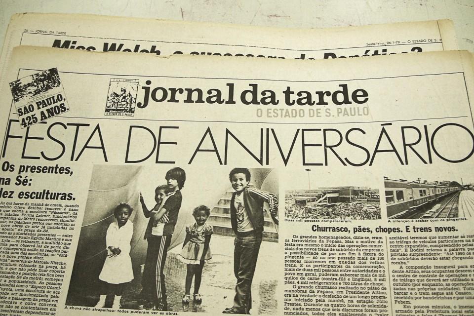 Última página do JT de 26 de janeiro de 1979
