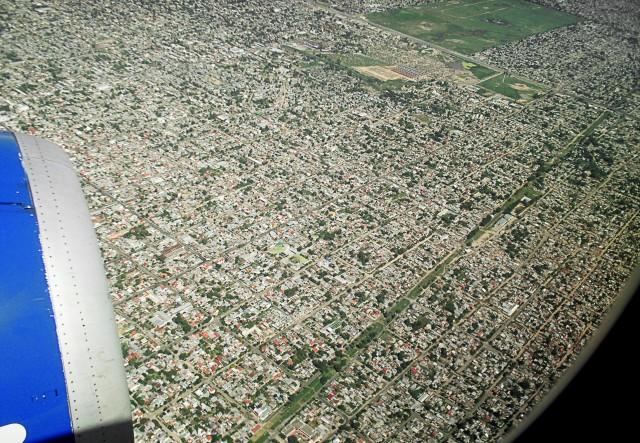 Buenos Aires vista do alto