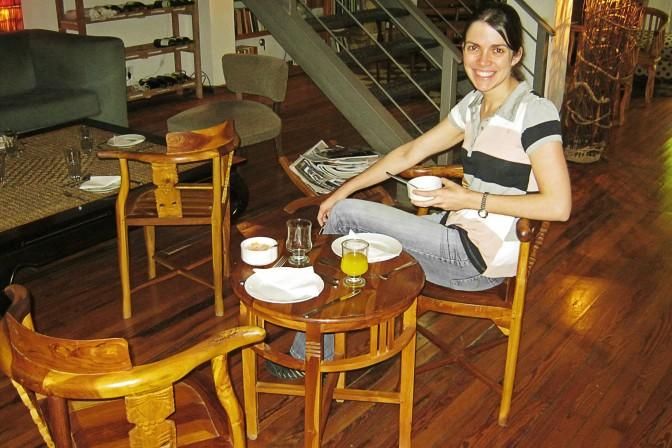 Café da manhã no Jam Suites