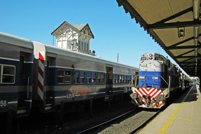 Plataforma da Estación Palermo