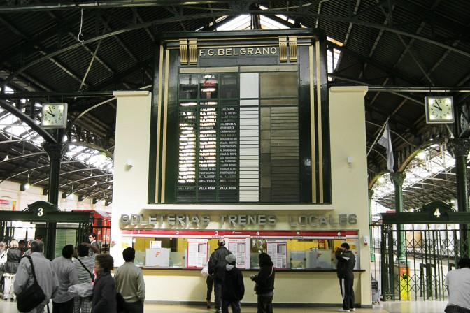 Bilheterias da Estação Retiro Belgrano