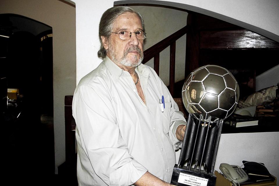 Michel Laurence e a Bola de Prata