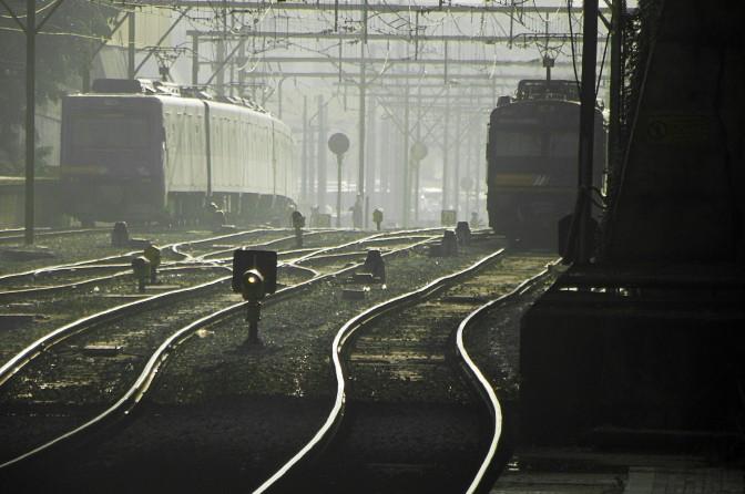 Trens da CPTM deixam Estação da Luz