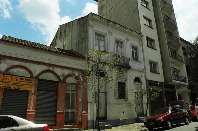 Casa mais antiga do Bixiga em 2010