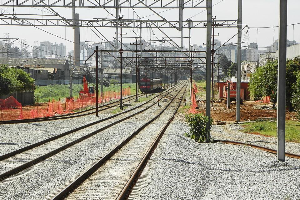 Antiga Estação Tamanduateí demolida