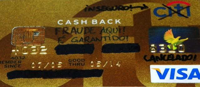 Fraude no meu cartão Citibank