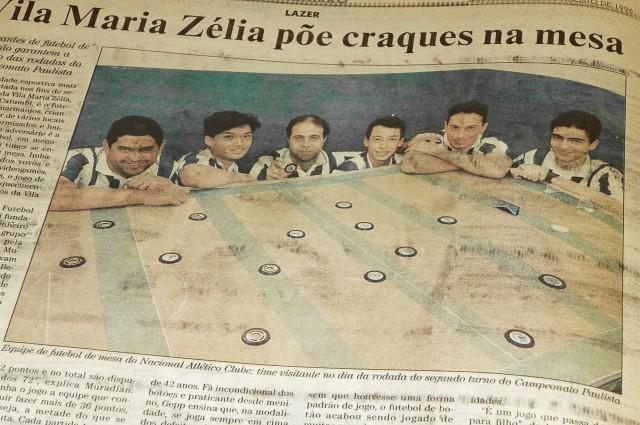 Reportagem sobre botonismo na Vila Maria Zélia