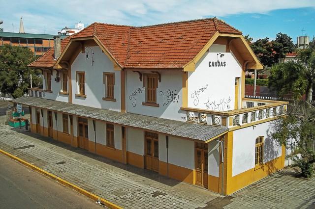 Antiga estação de Canoas