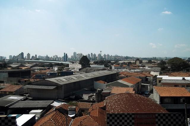 Estação Tamanduateí vista do Expresso Tiradentes