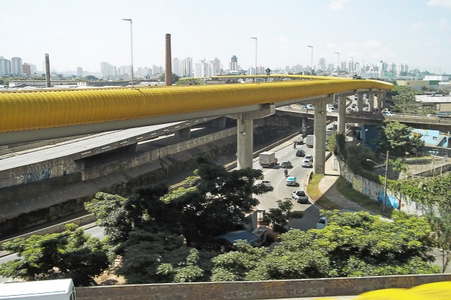 Viaduto Grande São Paulo e Avenida das Juntas Provisórias