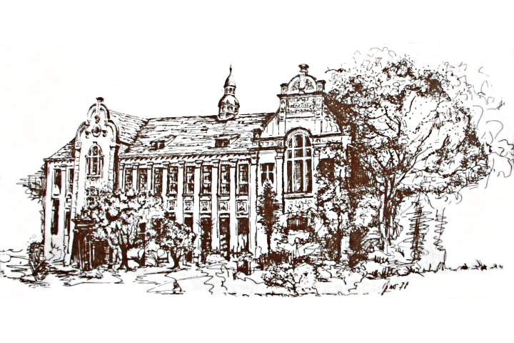 Porto Seguro na Praça Roosevelt (desenho de Igino Rotta)