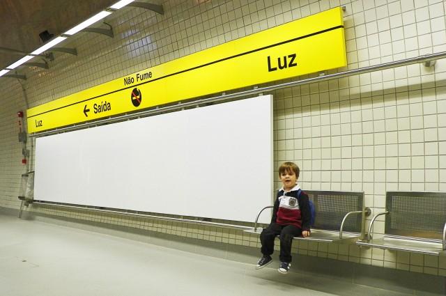 Estação Luz da Linha 4-Amarela do Metrô de São Paulo