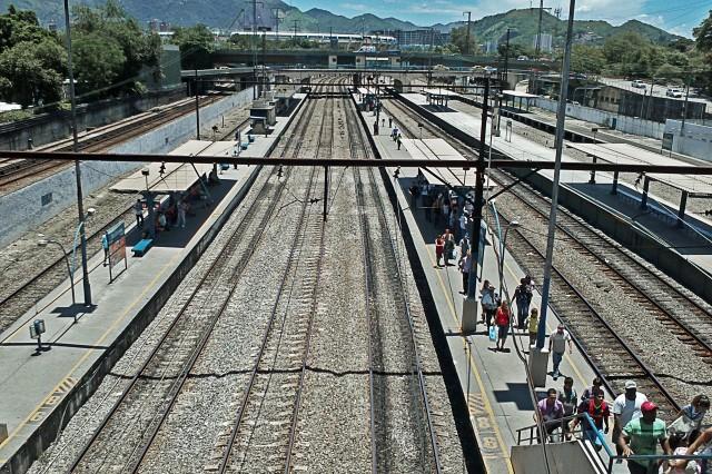 Estação São Cristóvão da Supervia, no Rio de Janeiro