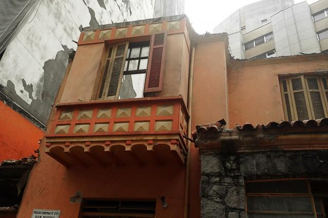 Segundo andar da casa na Rua Martins Fontes, 295