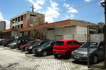 Antiga estação Barra Funda da EFSJ